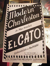 Partitur Modern' Charleston El Gato Max Robins Music -blatt