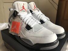 "Jordan 4 Retro ""Cement"" 2012 (Jumpman talón) Para Hombre Uk Size 9"