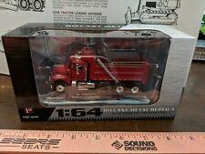 1/64 FIRST GEAR #60-0390 RED MACK GRANITE SEMI DAY CAB DUMP TRUCK DCP ertl spec