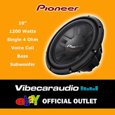 "Pioneer 10"" 25cm 1200 Watts SVC 4 Ohm High Quality Car Bass Subwoofer Deal Offer"