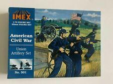 IMEX 1/72 American Civil War UNION ARTILLERY SET #501 NEW- NIB