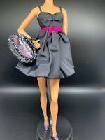New Barbie Urban Jungle The Look Animal Print High Waisted Leopard Pencil Skirt