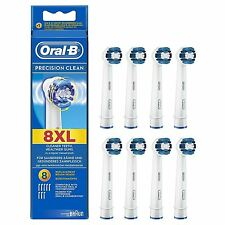 Oral-B Braun Precision Clean 8XL Electric Toothbrush Replacement Heads Pack of 8