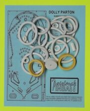 1979 Bally Dolly Parton pinball rubber ring kit