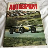 VINTAGE AUTOSPORT MAGAZINE MAG SEPTEMBER 1972 F1 RACING CARS