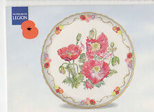 OLD POSTCARD - ROYAL BRITISH LEGION - Opium Poppy - fine art plate- Second Issue