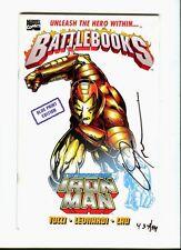 Battlebooks : Iron Man / Blue Print Ed. 1998  Signed B. Tucci  rare ! - VF