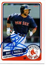 Bryce Brentz 2014 Pawtucket Red Sox Signed Card