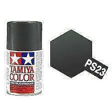 Bombe de peinture Tamiya Gris métal PS-23