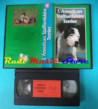VHS film L'AMERICAN STAFFORDSHIRE TERRIER 1998 Supplemento 65WORKDOG(F147)no dvd