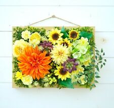 JAPAN ARTIFICIAL FLOWERS HANGING WALL/BOX/HOME Decor/PLANT/ROSE/WEDDING/fake