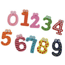 Alphabet Learning Toys Wooden Magnetic Letters Fridge Magnet Teaching Aids