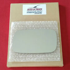 NEW Mirror Glass + ADHESIVE SAAB 9-3  9-5 900 Driver Left Side **FAST SHIPPING**