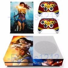 Xbox One S Slim Console Skin Wonder Woman DC Comic Vinyl Decal Stickers Covers