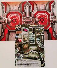 Android Netrunner - 3x AESOP'S PAWNSHOP Alternate Art Promo Cards