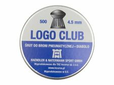 H&N Logo Club Pellets cal.177 4.5 mm 500 pcs. 7.41 gr 0.49 g Air gun pellets
