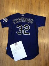 Tyler Chatwood Colorado Rockies Game Jersey Chicago Cubs
