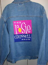 Rosie O'Donnell Show Denim Jacket  Autographed  XL/NWOT
