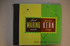 """Fred Waring / Jerome Kern  -  Decca Records 10""""  (3 Records)  78s  -  1946"""