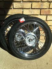 Simson 2x Komplettrad Felge Rad Räder Reifen S50 S51 Schwalbe KR51 Enduro Star
