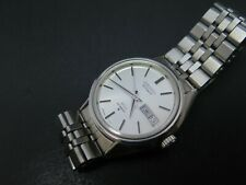 Vintage KING SEIKO KS Hi Beat Automatic Steel 5626 7110 Kanji DayDate Men Watch