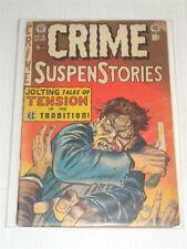 CRIME SUSPENSTORIES #16 G/VG (3.0) SCARCE CLASSIC APRIL 1953 EC COMICS