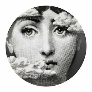 Fornasetti WALL PLATE T&V 139 LINA With Clouds -  Made In Italy NIB