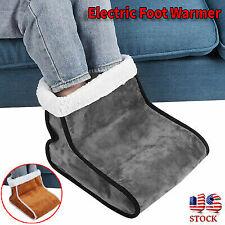 33W Electric Foot Warmer Detachable Feet Heating Boot Heater Shoes US Plug.