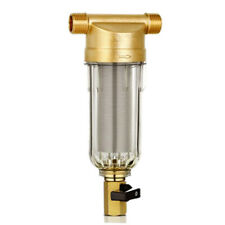 4 Points Water Reusable Sediment Spin Down Water Pre Filter Hot Water System