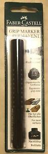 "Faber Castell 150499 Round""Grip 1504"" Permanent Marker - Black"