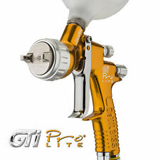 DeVilbiss GTi Pro LITE Spraygun TE10 1.3 1.4mm GOLD