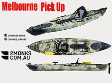 Pro 3.6M Single Sit-On Fishing Kayak Canoe incl Seat Paddle rudder Melbourne