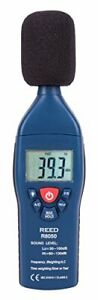 REED Instruments R8050 Sound Level Meter Type 2 30-100 and 60-130dB +/-1.4 dB...