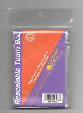 CBG Cardboard Gold Resealable Team Bag 1 Pack of 100 Sleeves