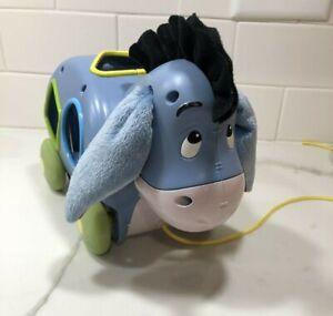 Eeyore Disney Shape Sorter Pull Toy Rare HTF