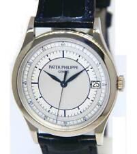 Patek Philippe 5296 Calatrava 18K White  Gold Mens 38mm Watch Box/Papers 5296G