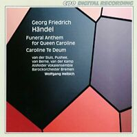 eorg Friedrich Händel - Handel: Funeral Anthem for Queen Caroline, [CD]