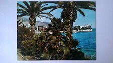 Beaulieu-Sur-Mer France Vintage large colour Postcard c1960s La baie des fourmis