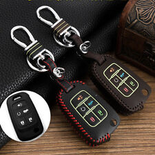 Genuine Leather car key case for Buick LaCrosse GL8 Fob Cover Shell