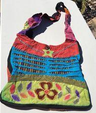 Cotton Shoulder Cross Messenger Bag