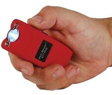 12,000,000 Volt Women Self Defense KEYCHAIN Mini Stun Gun RED w/ tazer HOLSTER