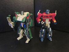 Transformers Classics Optimus Prime vs Megatron 2-Pack - Loose and Complete