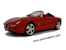 2010 Alfa Romeo 2uettottante Pininfarina 1:43 YOW MODELLINI scale model kit
