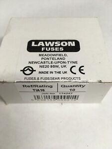 LAWSON Fuse TIA16 16A BS88 415V Cartridge Fuse Link JPSF808