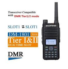 BaoFeng DM-1801 Walkie Talkie VHF UHF Dual Band DMR Two-Way Radio Transceiver UK