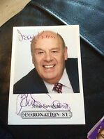 John Savident hand Signed Autograph