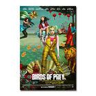 Birds Of Prey Movie Harley Quinn Art Canvas Silk Film Poster Print 32x48 inch
