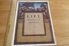 Maxfield Parrish complete LIFE magazine 1922 Coles Phillips lingere Shakespeare