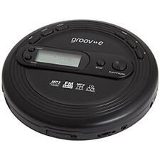 Groov-e GVPS 210 retro series personal lecteur cd avec radio fm noir-neuf