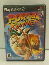 Playstation 2 Portal Runner 3DO Game COMPLETE PS2
